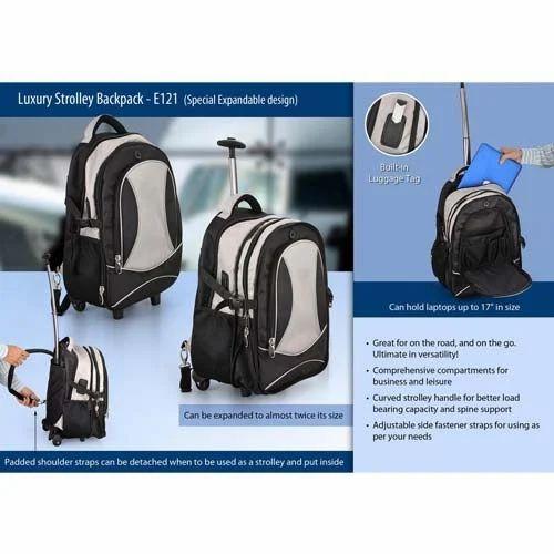 692e0fce23 Multi Nylon Backpack Trolley Bag