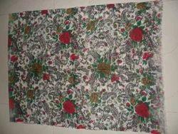 Printed Wool Gauze Scarf