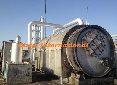 Waste Tyre Scrap Divya International Low Investment High