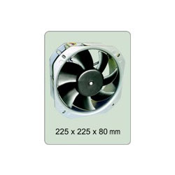 DC Brushless Fans- Metal Blade
