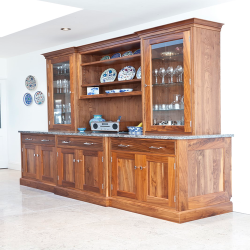 Crockery cabinets designs in wood cabinets matttroy for Best wood for kitchen cabinets in india