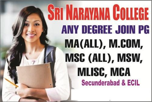 M Com Distance Education MA MSc Distance Courses in Secunderabad