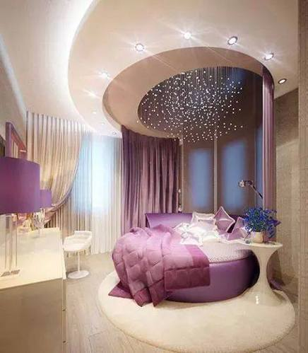 Modern Princess Bedroom Interior Designing