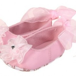 Bow Lace Ribbon Shoes