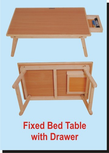 Fixed Bed Table With Drawer, | Akme India Links Private Limited In Paschim  Vihar, New Delhi | ID: 2009496462