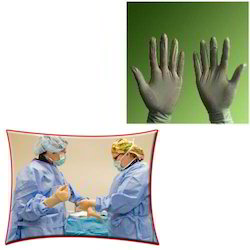 Latex Surgical Gloves for Hospital