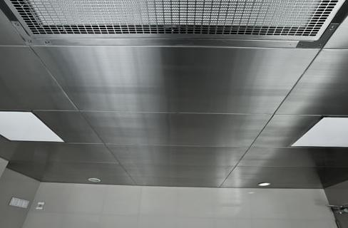 False Ceiling Tiles Stainless Steel Ceilings Manufacturer From Faridabad