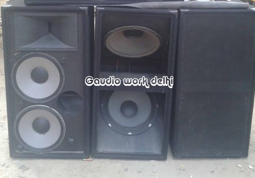 Dual Bass Woofer Cabinet at Rs 12500 | Chhattarpur | New Delhi ...