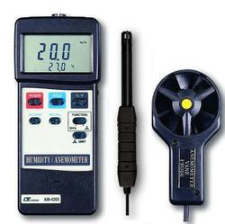 Lutron Anemometer with Humidity Meter