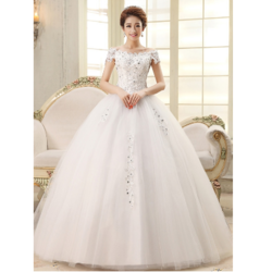 White Bridal Gown Bridal Gown Gown For Wedding Marriage Gown À¤¶ À¤¦ À¤• À¤— À¤‰à¤¨ In New Rajendra Nagar New Delhi Christian Wedding Dresses Store Id 6741729112