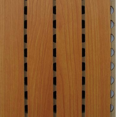 Acoustic Wall Panel Slated Wooden Acoustic Panel
