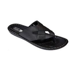 Black Lehar Men Slippers, Size: 6 x 10