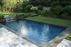 Poured Concrete Swimming Pool