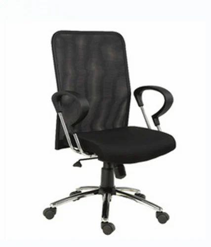 7967899b175 Mesh Square Metal Medium Office Chair - Hetal Enterprises