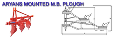 Mounted M B Plough