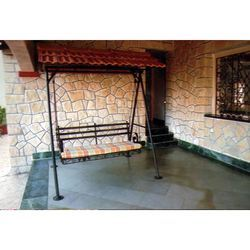 Wrought Iron Swing Set