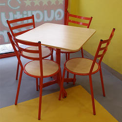 Steel Cafeteria Furniture