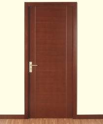Designer Wood Doors cherry solid wood front entry door single Flush