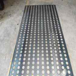 8 Feet Aluminum Perforated Sheets