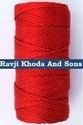 Red Hdpe Fishnet Twine For Domestic