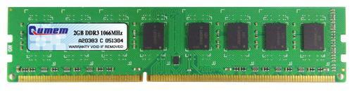 Qumem Desktop DDR3 2GB 1066MHz PC3-8500 Memory RAM