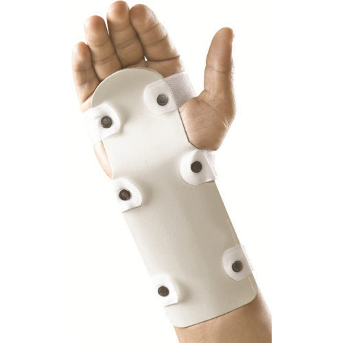A true Thomas Full Ring or Half Ring Splint, properly sized, can reach up to press.