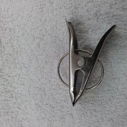 Stainless Steel Garment Clip