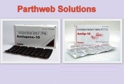 Amlopres, Amlip (Amlodipine Besilate Tablets)
