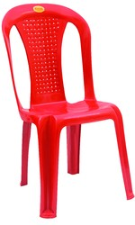 Armless Net Plastic Chairs