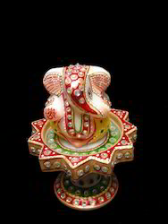 Marble Ganesh Decorative
