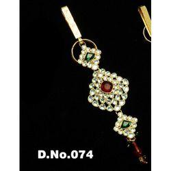 Colorful Kundan Juda Jewelry