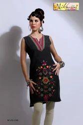 Indo Western Tunics Ladies Kurti Top