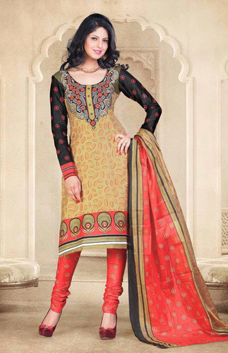bbd428faa9 Unstitched Salwar Suit Dress Material at Rs 300 /piece(s ...