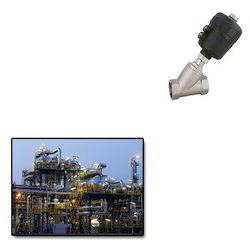 Pneumatic Angle Seat Valves for Petrochemical Industry