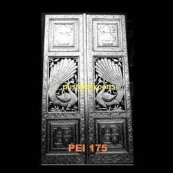 White Metal Carving Doors