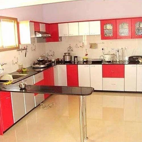 Stylish Modular Kitchen, Modular Kitchen - Vertical Builders ...