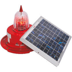 Solar LED Aviation Obstruction Light