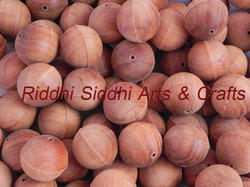 Sandalwood Semi Finished Beads 20 Mm