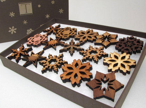 Decorative Wood Carved Ornaments