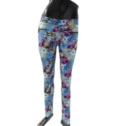 Printed Ladies Jeggings