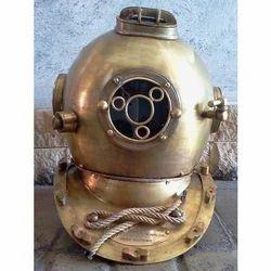 Brass Nautical Diving Helmet