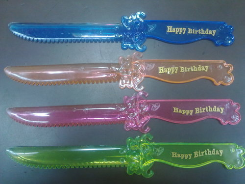Amazing Plastic Knife Cake Cutting Knife Manufacturer From Chennai Personalised Birthday Cards Bromeletsinfo
