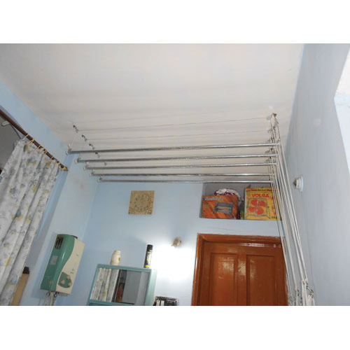 Celling Mounted Pulley Base Clothes Dryer Individual