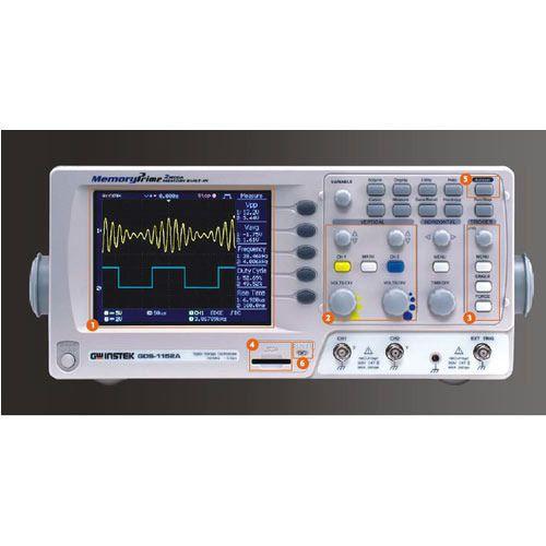 Gw Instek Digital Storage Oscilloscope, GDS 1102 U, Rs