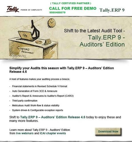 Tally Auditor Version Software