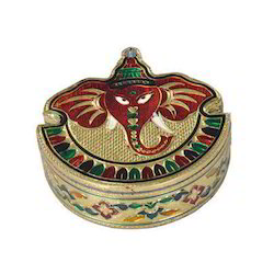 Small Ganesh Shaped Designer Dry Fruit Box