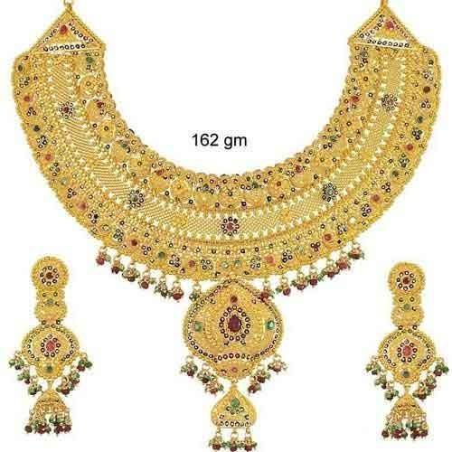 zirconia is heavy necklace jewellery cz loading bollywood s set plated gold bridal cubic itm image