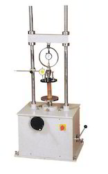 Unconfined Compression Tester Proving Ring Type (Motorized)