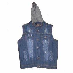 Half Sleeve Denim Jacket Aadhi Baju Ki Jacket ब न