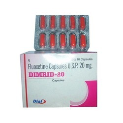 Fluoxetine Capsules USP 20 mg